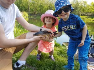 Bradshaw Hall Fisheries Lake 1 is brilliant for kids