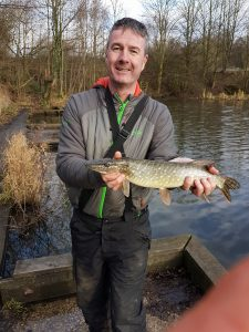 Small Pike From The Old River Irlam