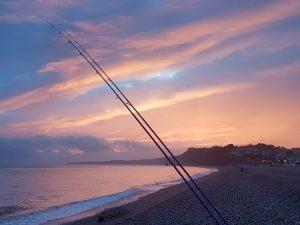 Beach Fishing Budleigh Salterton