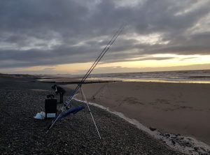 Rods out but not much action at Rossall