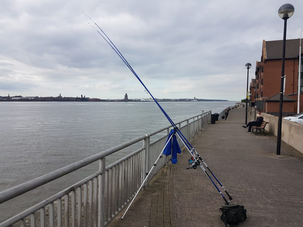 Fishing Mariners Wharf Liverpool
