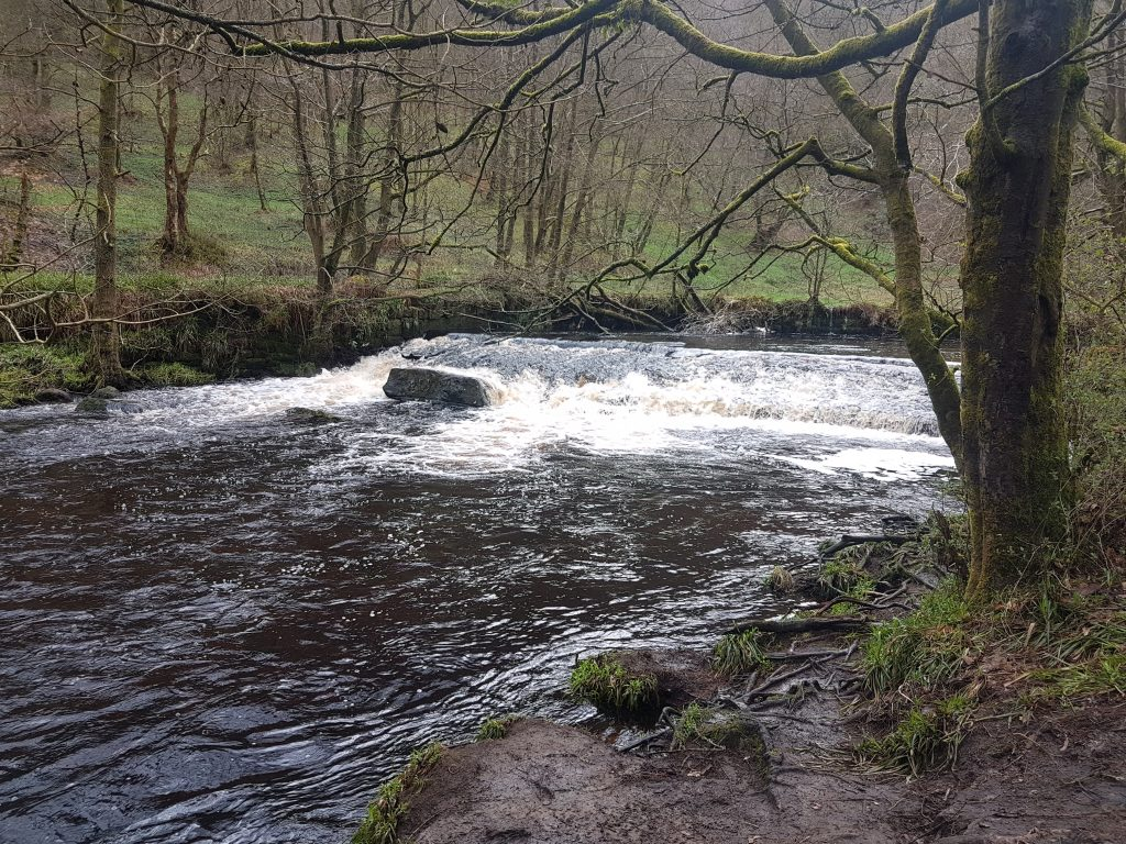 Beautiful Hebden Water at Hardcastle Crags - a great value day ticket stretch